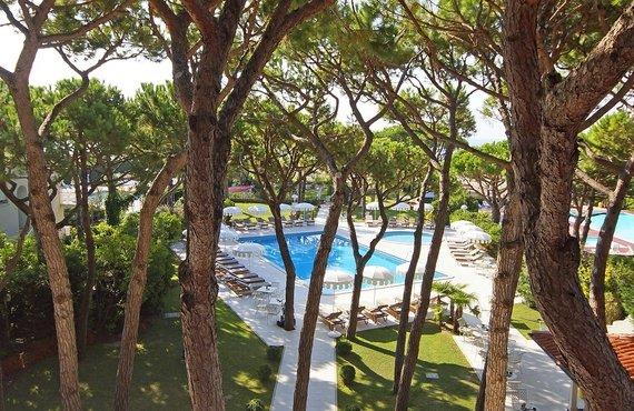 Hotel Jesolo Pineta  Sterne